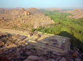 Hampi, India, Ancient Hindu temple — Stock Photo