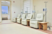 Cancer treatment chemotherapy room — Stock Photo