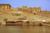 View of Amber Fort in Jaipur India — Stock Photo