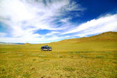 Voiture belle offroad mongole — Photo