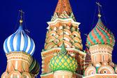 Saint manjericões Catedral, Moscou, Rússia — Fotografia Stock