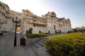 Courtyard at City Palace, Udaipur — Foto de Stock