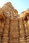 Seks grupowy dane w kama sutra świątynie w Indiach — Zdjęcie stockowe