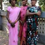 MUMBAI, INDIA - MARCH 2013: traditional clothing indian gays — Stock Photo #38769795