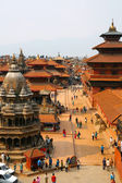 KATHMANDU, NEPAL - JUNE 2013: Patan Durbar Square — Stock Photo
