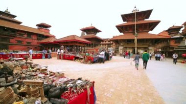 Patan Durbar Square — Vídeo Stock