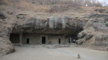 Old stone Hindu temple — Stock Video