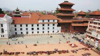 Patan Durbar Square — Stock Video