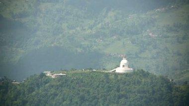 Stupa budista — Vídeo Stock