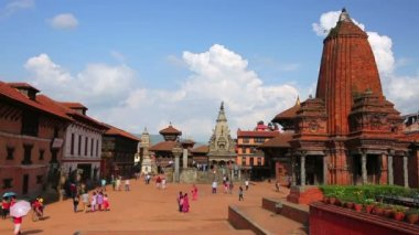 Bhaktapur Durbar Square — Stock video