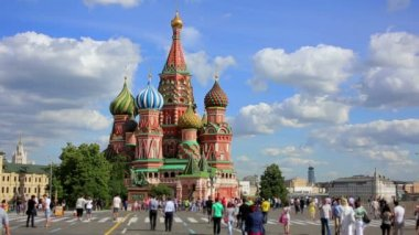 Saint Basil's Cathedral — Stock Video