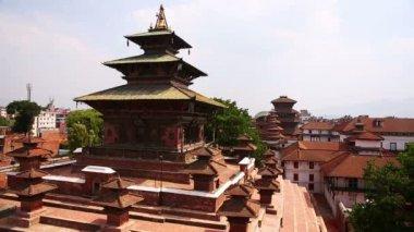 Kathmandu cityscape — Stockvideo