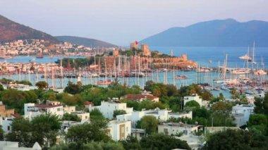 Bodrum, holiday destination in Turkey — Stock Video
