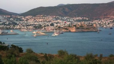 Bodrum — Stockvideo