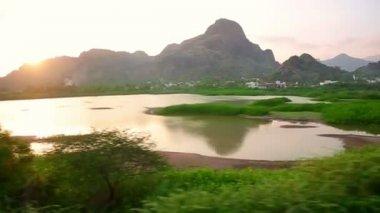 Scenic landscapes — Стоковое видео