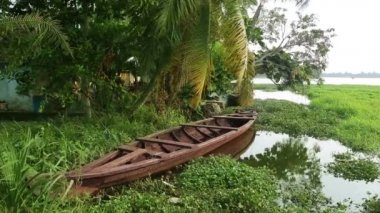 Kerala Backwaters — Stock Video