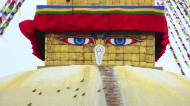Buddha's Eyes — Wideo stockowe