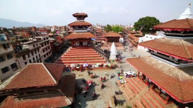 Patan Durbar Square — Vídeo de stock