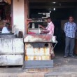 Stock Video: Local market vendors