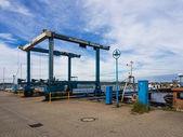 Visserij haven — Foto de Stock
