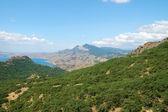 Crimean mountain landscape — Stock Photo