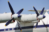 Two propellers — Stock Photo