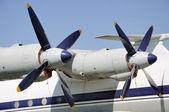 Zwei propeller — Stockfoto