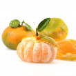 Royalty-Free Stock Photo: Peeled Tangerine