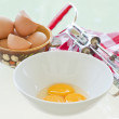 Egg Yolks - Stock Photo