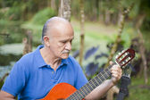 Latin gitarist — Stok fotoğraf