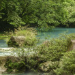Stock Photo: Beautiful Rio Celeste
