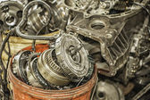 Used Auto Parts — Stock Photo