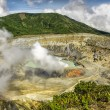 Poas Volcano Crater — Stock Photo