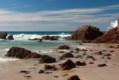 海滩场景 — 图库照片