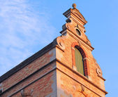 Bruges, eski Flaman gable — Stok fotoğraf