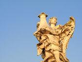 Engel mit Spalte, Ponte San Angelo, Rom — Stockfoto