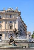 Piazza della repubblica, rom — Stockfoto