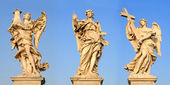 Angels, rome — Stock Photo