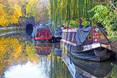 Canal de la ciudad, londres — Foto de Stock