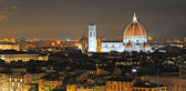 Florence by night — Stock Photo