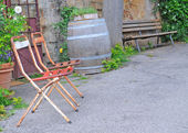 Street view, pienza — Stock Photo