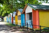 Colorful Huts — Stock Photo