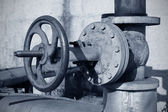 Pipeline and Valve — Stock Photo