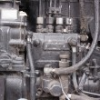 Stock Photo: Tractor engine