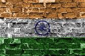 Bandera de la india — Foto de Stock