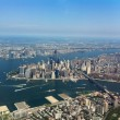 Stock Photo: Manhattfrom above