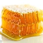 Sweet honeycomb with honey — Stock Photo #12878175