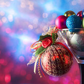 Christbaumkugeln — Stockfoto