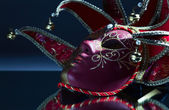 Venetian mask with bells — Foto Stock
