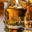 Whisky with ice. — Stock Photo #13763340